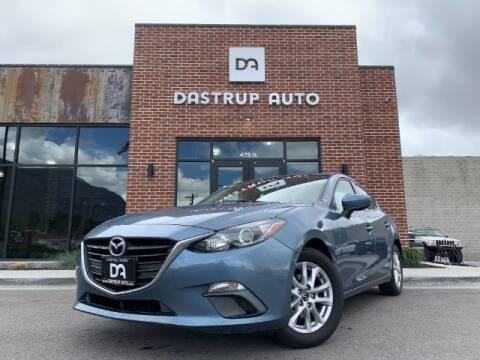 2014 Mazda MAZDA3 for sale at Dastrup Auto in Lindon UT