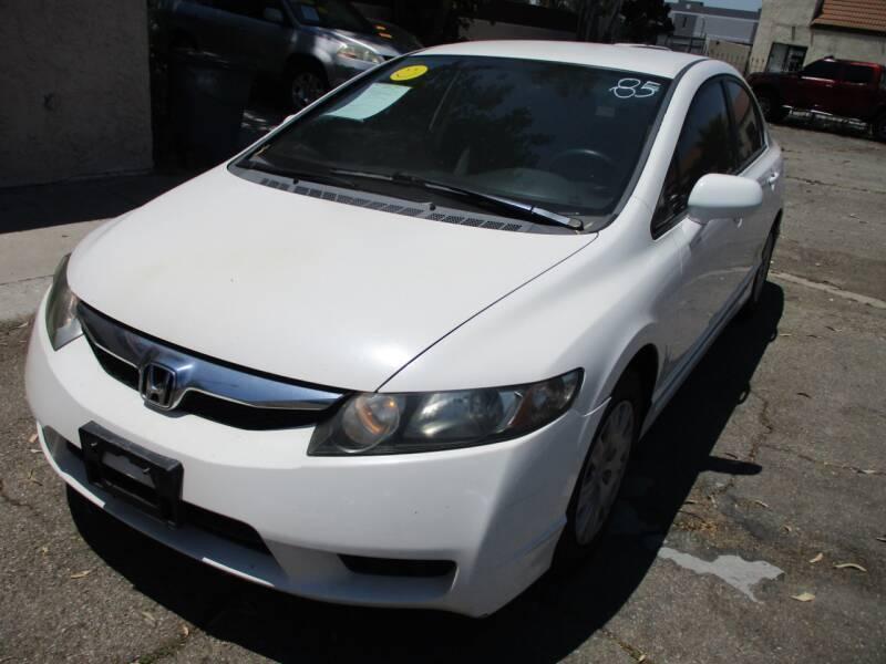 2009 Honda Civic for sale at F & A Car Sales Inc in Ontario CA
