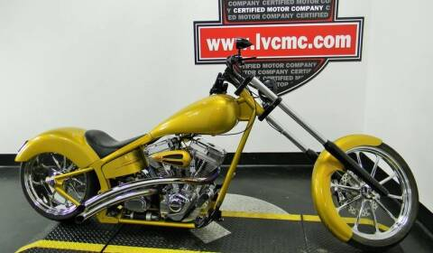 2007 CUSTOM CHOPPER for sale at Certified Motor Company in Las Vegas NV