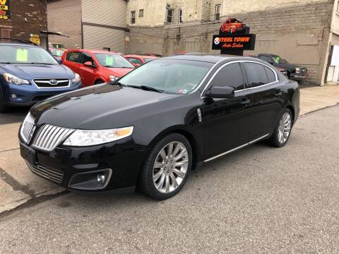 2012 Lincoln MKS for sale at STEEL TOWN PRE OWNED AUTO SALES in Weirton WV