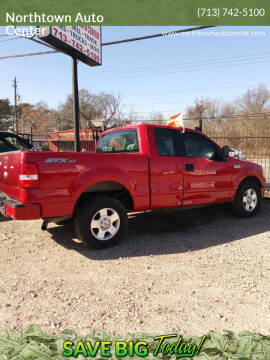2005 Ford F-150 for sale at Northtown Auto Center in Houston TX