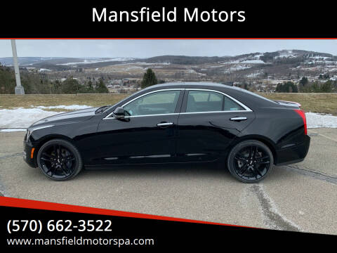 2017 Cadillac ATS for sale at Mansfield Motors in Mansfield PA