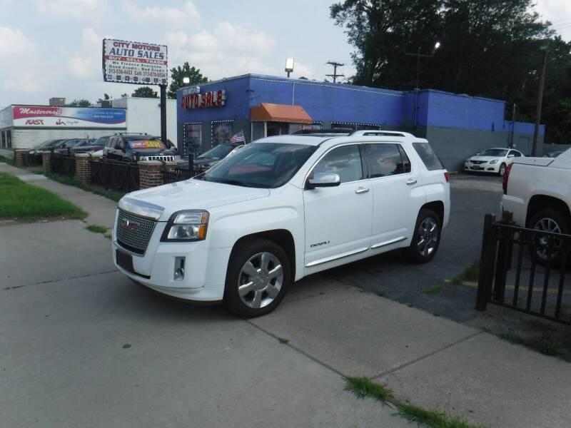 2013 GMC Terrain for sale at City Motors Auto Sale LLC in Redford MI