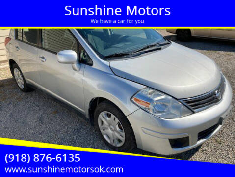 2011 Nissan Versa for sale at Sunshine Motors in Bartlesville OK
