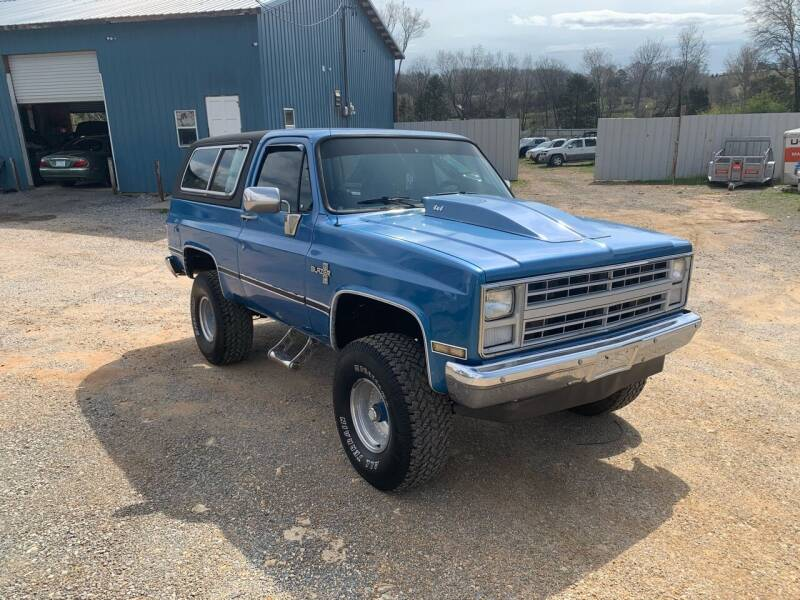1988 Chevrolet Blazer for sale at Cristians Auto Sales in Athens TN