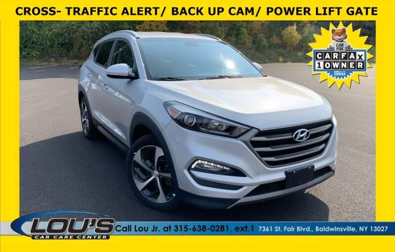 2016 Hyundai Tucson for sale at LOU'S CAR CARE CENTER in Baldwinsville NY