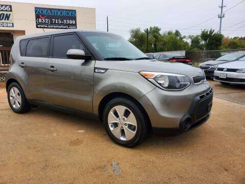 2016 Kia Soul for sale at Zora Motors in Houston TX