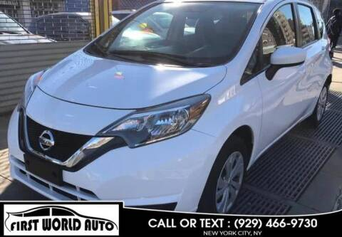 2019 Nissan Versa Note for sale at First World Auto in Jamaica NY