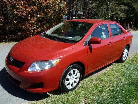 2009 Toyota Corolla for sale at Templar Auto Group in Matthews NC