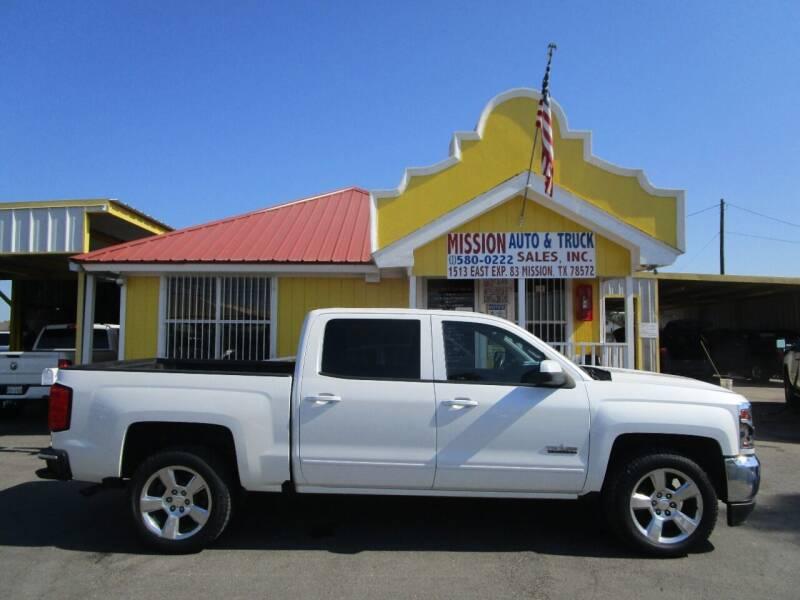 2016 Chevrolet Silverado 1500 for sale at Mission Auto & Truck Sales, Inc. in Mission TX