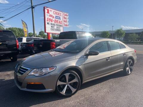 2012 Volkswagen CC for sale at 1st Choice Auto Sales in Newport News VA