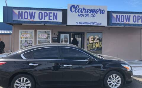 2013 Nissan Altima for sale at Claremore Motor Company in Claremore OK