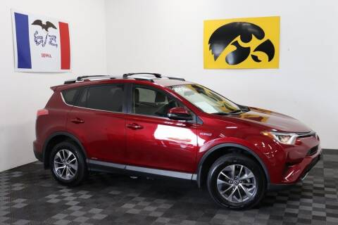 2018 Toyota RAV4 Hybrid for sale at Carousel Auto Group in Iowa City IA