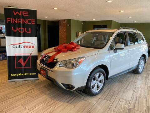 2015 Subaru Forester for sale at AutoMax in West Hartford CT