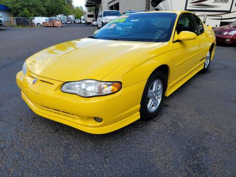 2003 Chevrolet Monte Carlo for sale at Blue Lake Auto & RV Repair Inc in Fairview OR