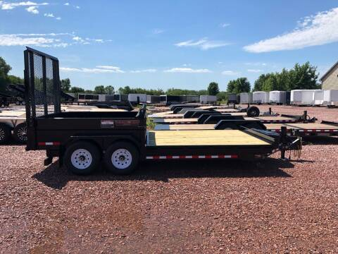 2019 Midsota FFRD 18/08 FlatFront Rear Dump for sale at Prairie Wind Trailers, LLC in Harrisburg SD
