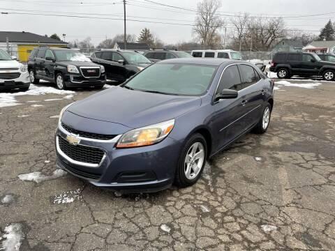 2014 Chevrolet Malibu for sale at Dean's Auto Sales in Flint MI