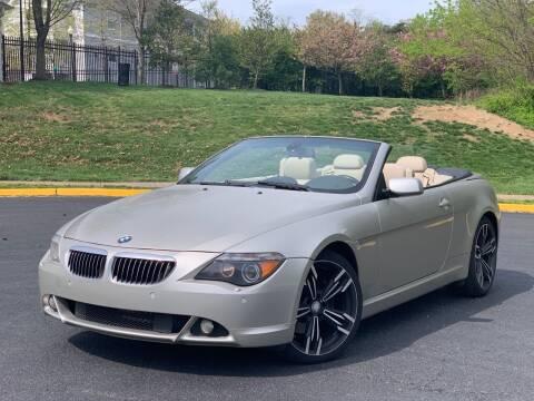 2005 BMW 6 Series for sale at Diamond Automobile Exchange in Woodbridge VA