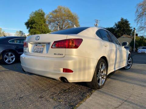 2009 Lexus IS 250 for sale at A1 Auto Sales in Sacramento CA
