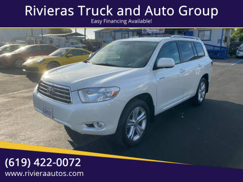 2010 Toyota Highlander for sale at Rivieras Truck and Auto Group in Chula Vista CA