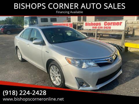 2014 Toyota Camry Hybrid for sale at BISHOPS CORNER AUTO SALES in Sapulpa OK