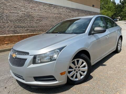 2011 Chevrolet Cruze for sale at Gwinnett Luxury Motors in Buford GA