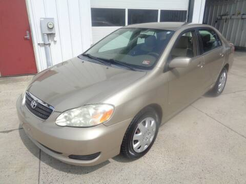2008 Toyota Corolla for sale at Lewin Yount Auto Sales in Winchester VA