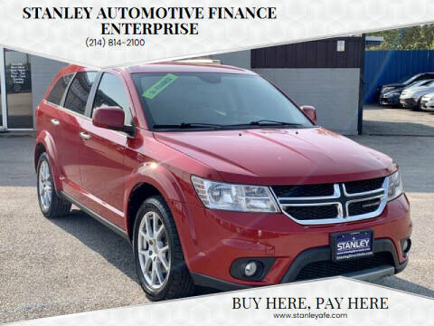 2014 Dodge Journey for sale at Stanley Automotive Finance Enterprise - STANLEY DIRECT AUTO in Mesquite TX