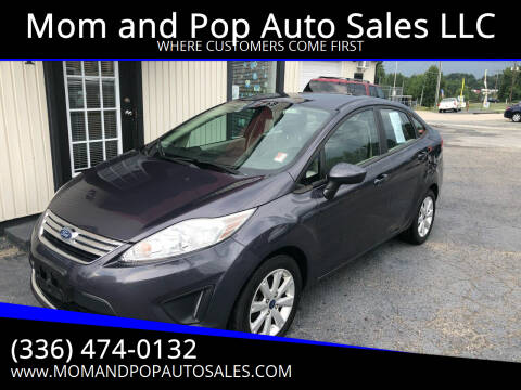 2012 Ford Fiesta for sale at Mom and Pop Auto Sales LLC in Thomasville NC