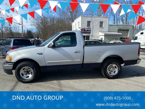 2001 Ford F-150 for sale at DND AUTO GROUP in Belvidere NJ