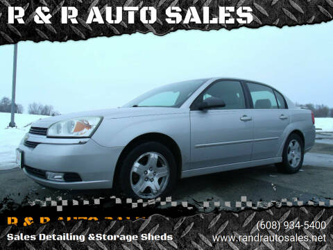 2005 Chevrolet Malibu for sale at R & R AUTO SALES in Juda WI