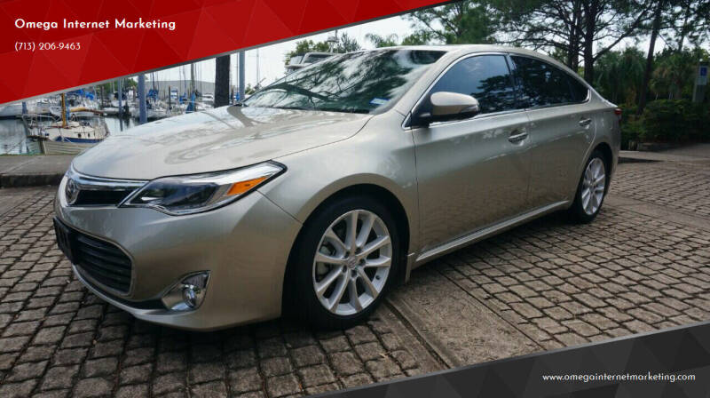 2014 Toyota Avalon for sale at Cars-yachtsusa.com in League City TX