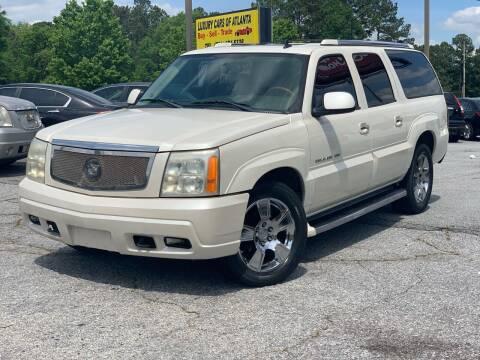 2006 Cadillac Escalade ESV for sale at Luxury Cars of Atlanta in Snellville GA