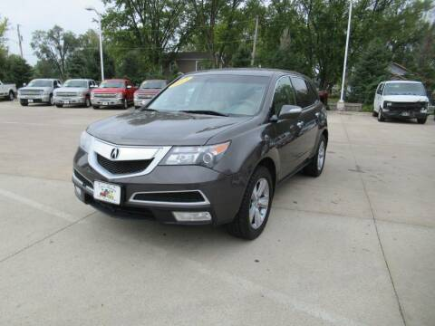 2012 Acura MDX for sale at Aztec Motors in Des Moines IA