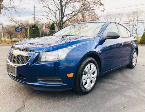 2013 Chevrolet Cruze for sale at 1NCE DRIVEN in Easton PA