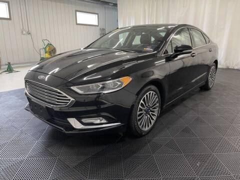 2017 Ford Fusion for sale at Monster Motors in Michigan Center MI