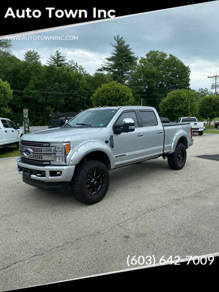 2017 Ford F-350 Super Duty for sale at Auto Town Inc in Brentwood NH