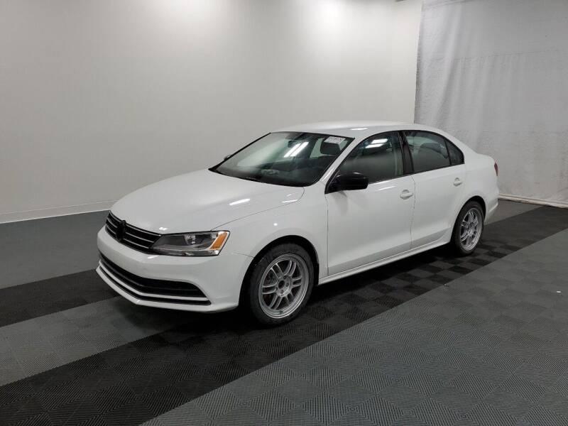 2016 Volkswagen Jetta for sale at Riverside Auto Sales & Service in Portland ME