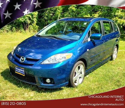 2007 Mazda MAZDA5 for sale at Chicagoland Internet Auto - 410 N Vine St New Lenox IL, 60451 in New Lenox IL