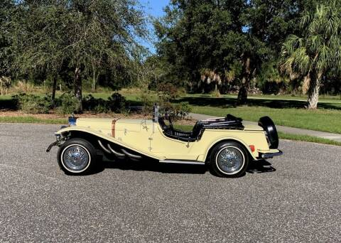 1929 Mercedes-Benz GAZELLE REPLICA for sale at P J'S AUTO WORLD-CLASSICS in Clearwater FL
