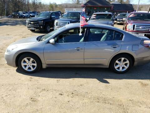 2009 Nissan Altima for sale at Winner's Circle Auto Sales in Tilton NH