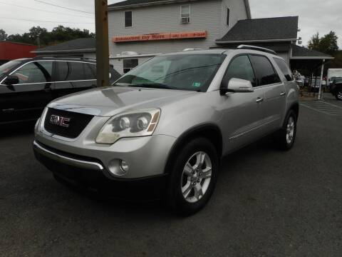 2008 GMC Acadia for sale at Automotive Toy Store LLC in Mount Carmel PA