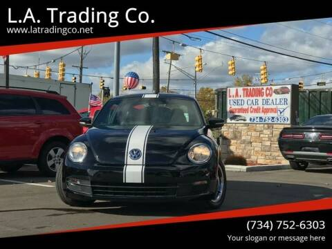 2012 Volkswagen Beetle for sale at L.A. Trading Co. in Woodhaven MI