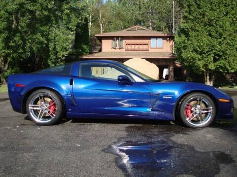 2006 Chevrolet Corvette for sale at G and G AUTO SALES in Merrill WI
