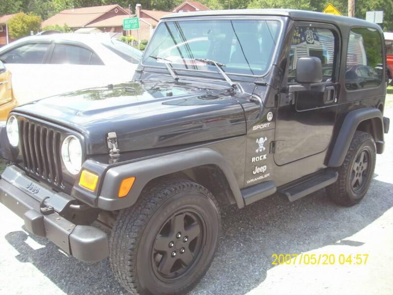 2005 Jeep Wrangler for sale at Motors 46 in Belvidere NJ