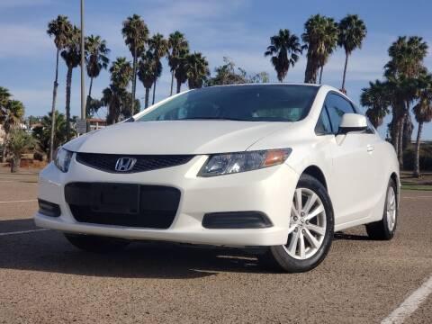 2012 Honda Civic for sale at Masi Auto Sales in San Diego CA