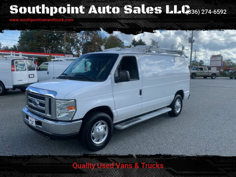2010 Ford E-Series Cargo for sale at Southpoint Auto Sales LLC in Greensboro NC