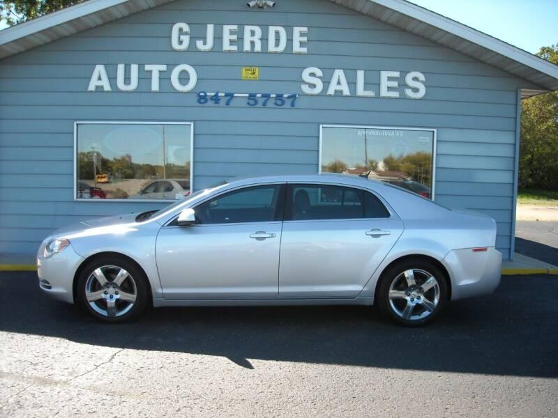 2011 Chevrolet Malibu for sale at GJERDE AUTO SALES in Detroit Lakes MN