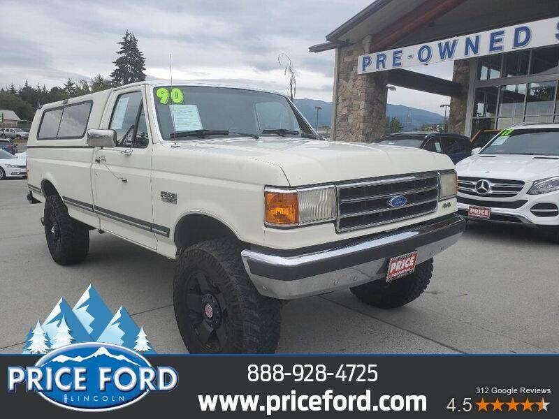 1990 Ford F-250 for sale at Price Ford Lincoln in Port Angeles WA