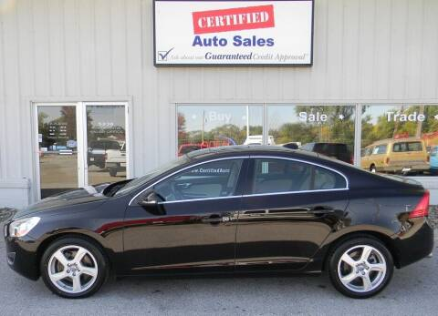 2013 Volvo S60 for sale at Certified Auto Sales in Des Moines IA